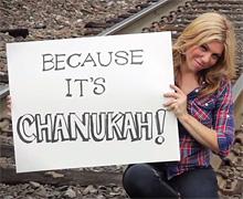 VIDEO: It's Chanukah!